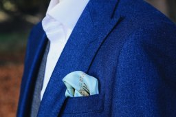 Dublin Skyline Sik Pocket Square by Donal Mangan, Mr. Jenks €30 http://bit.ly/2A8l5ze