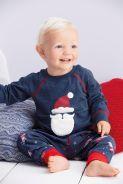 Next, from €12 - Boys' Navy/Red Santa Pyjama Set http://ie.nextdirect.com/en/g93192s4#441537