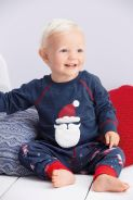 Next, from €12 - Boys' Navy/Red Santa Pyjama Set http://ie.nextdirect.com/en/g93192s4#441537