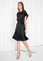 & Other Stories, €85 - Glossy Dots Dress http://www.stories.com/ie/Ready-to-wear/New_in_ready-to-wear/Glossy_Dots_Dress/122860841-126148392.1