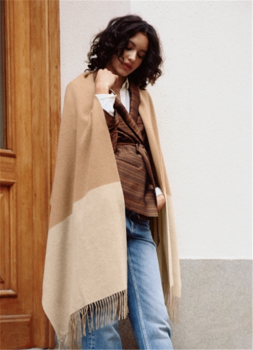 & Other Stories, €55 - Two Tone Wool Blanket Scarf http://www.stories.com/ie/Accessories/Scarves/Two_Tone_Wool_Blanket_Scarf/582826-122565585.1#122565585