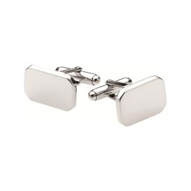 Weir & Sons, €185 - Sterling Silver Rectangular Cufflinks http://weirandsons.ie/gifts/for-him/silver-rectangular-cufflinks.html