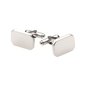Weir & Sons, €185 - Sterling Silver Rectangular Cufflinks http://weirandsons.ie/gifts/for-him/silver-rectangular-cufflinks.html