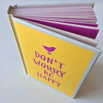 Easons, €8.40 - Summersdale Don't Worry Be Happy Quote Book http://www.easons.com/p-3479859-dont-worry-be-happy.aspx