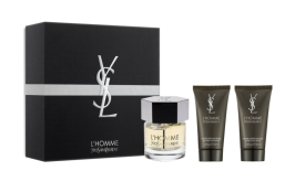 YSL, €59 - L'Homme EDT 60ML Body Deluxe Gift Set http://www.brownthomas.com/beauty/fragrance/men/ysl-lhomme-edt-60ml-body-deluxe-gift-set/70x2147xl6270100.html