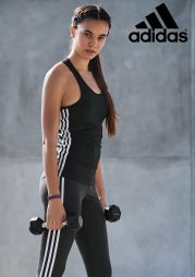 Adidas 3 Stripe Vest, €29 http://ie.nextdirect.com/en/g503694s4#957967