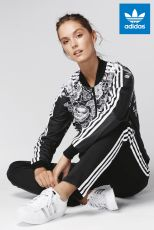 Adidas Originals Black Florido Track Top, €80 http://ie.nextdirect.com/en/g502686s5#428034