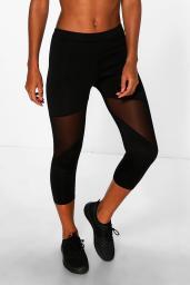 Boohoo Emily Mesh Panel Capri Running Leggings, €16 http://www.boohoo.com/trousers+leggings/emily-mesh-panel-capri-running-legging/invt/azz07640