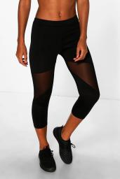 Boohoo Emily Mesh Panel Capri Running Leggings, €16 http://www.boohoo.com/trousers+leggings/emily-mesh-panel-capri-running-legging/invt/azz07640