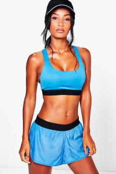 Boohoo Leah Fit Performance Running Shorts, €16 http://www.boohoo.com/new-to-clearance/leah-fit-performance-running-short/invt/dzz73136