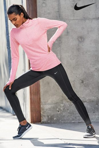 Nike Pink Dry Element Running Top, €53 http://ie.nextdirect.com/en/g50692s2#132734
