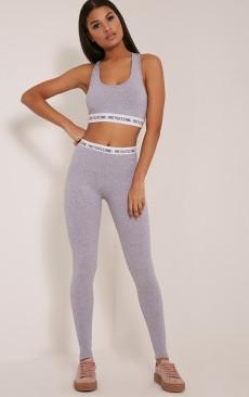 Pretty Little Thing Grey Leggings, €21 https://ie.prettylittlething.com/pretty-little-thing-grey-leggings.html