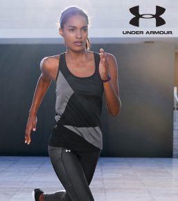 Under Armour Black And Steel Geo Run Tank, €37 http://ie.nextdirect.com/en/g502696s1
