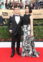 Joe Lo Truglio and Beth Dover