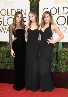 Miss Golden Globes Sistine, Scarlet & Sophia Stallone