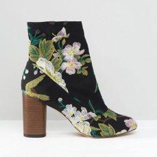 ASOS €66.67 - Emilia Jacquard Ankle Boots http://bit.ly/2lcJwbm