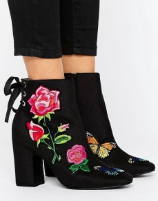 ASOS €73.33 - Eternal Love Patchwork Ankle Boots http://bit.ly/2le1eWU
