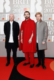 Ben Johnston, Simon Neil and James Johnston of Biffy Clyro