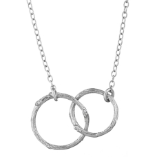 Chupi €159 - Just the Two Of Us Silver Necklace http://weirandsons.ie/chupi-just-the-two-of-us-silver-necklace.html