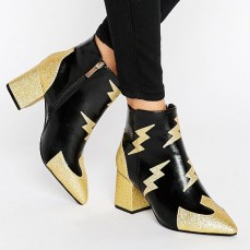 Daisy Street @ ASOS €46.65 - Lighting Heeled Ankle Boots http://bit.ly/2mL8xqo