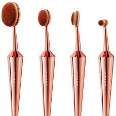 Iconic @ Harvey Nichols €49.99 - Rose Gold Makeup Brushes Set of 4