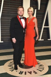 James Corden & Julia Carey
