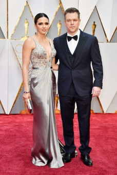 Luciana Barroso & Matt Damon