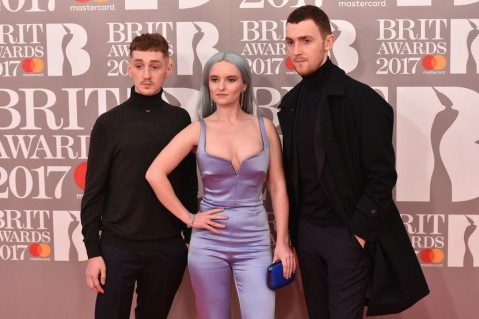 Luke Patterson, Grace Chatto and Jack Patterson of Clean Bandit
