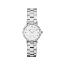 Marc Jacobs €185 - Baker Watch http://weirandsons.ie/watches/ladies/lds-m-jacobs-qtz-bts-logo-s-s-bct-wh.html