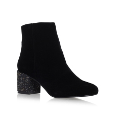 Miss KG €69 - Serbia Black Mid Heel Ankle Boots http://bit.ly/2lV0jyy