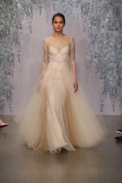 Monique Lhuillier Spring 2016 Bridal