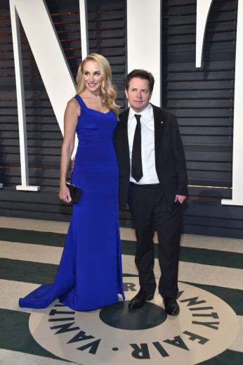 Tracy Pollan & Michael J. Fox