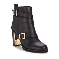 V by Very €58 - Angel Gold Heeled Ankle Boots http://bit.ly/2lKp3aP