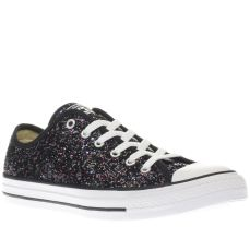 Converse €63 - Black & Purple All Star Glitter Ox Trainers http://www.schuh.ie/womens/converse-all-star-glitter-ox-black-and-purple-trainers/1924018960/