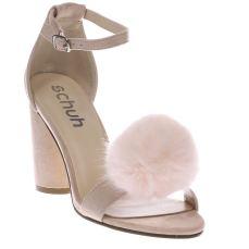 Schuh €48 - Fluffy High Heels http://www.schuh.ie/womens/schuh-fluffy-pale-pink-high-heels/1139203360/