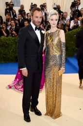 Tom Ford & Andrea Riseborough