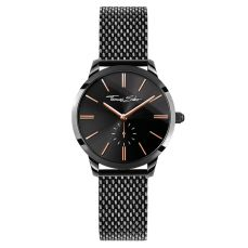Thomas Sabo Glam Spirit Bico Mesh Black Watch, €229 http://www.thomassabo.com/EU/en_IE/pd/women%E2%80%99s-watch/WA0277.html