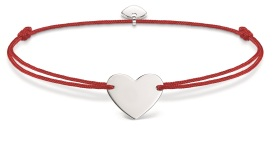 Thomas Sabo Little Secrets Red & Silver Heart, €35 http://bit.ly/2ttmFcl