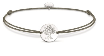 Thomas Sabo Little Secrets Grey & Silver Tree of Life Disc, €35 http://bit.ly/2tUvoXZ