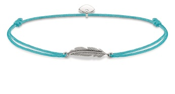 Thomas Sabo Little Secrets Turquoise Feather, €29 http://bit.ly/2tk5Sdw