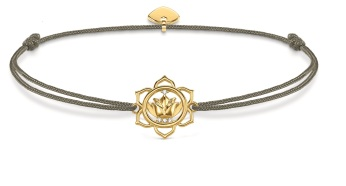 Thomas Sabo Little Secrets Grey & Gold Lotus Flower, €49