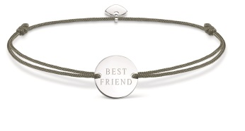 Thomas Sabo Little Secrets Grey & Silver Best Friend Disc, €35 http://bit.ly/2sJwbLo