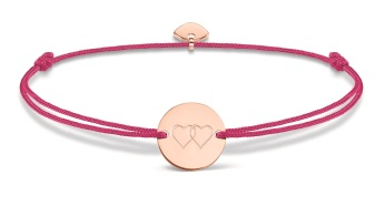 Thomas Sabo Little Secrets Hot Pink & Rose Gold Hearts Disc, €49 http://bit.ly/2tPxGHg