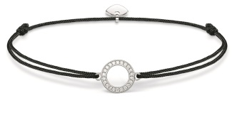 Thomas Sabo Little Secrets Black Circle, €39 http://bit.ly/2tLRnAb