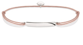 Thomas Sabo Little Secrets Dusty Pink & Silver Classic Bar, €35 http://bit.ly/2ttr9zC