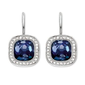Thomas Sabo, Glam & Soul Dark Blue Cosmo Earrings, €149, http://www.thomassabo.com/EU/en_IE/pd/earring/H1830.html