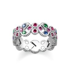Thomas Sabo, Glam & Soul Royalty Colourful Stones Ring, €179, http://www.thomassabo.com/EU/en_IE/pd/ring/TR2146.html