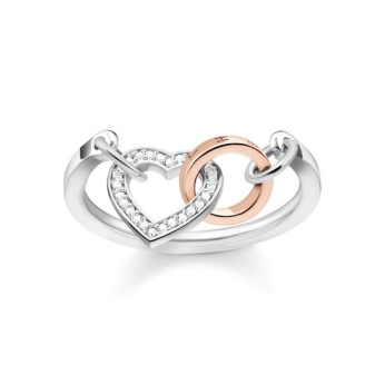 Thomas Sabo, Glam & Soul Together Heart Ring, €298 http://www.thomassabo.com/EU/en_IE/pd/ring/D_TR0033.html