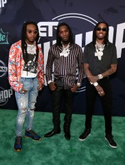 Takeoff, Offset, and Quavo of Migos