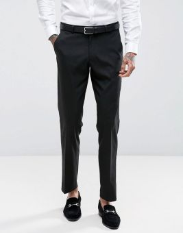 ASOS Slim Suit Trousers In Black, €27 http://bit.ly/2AcY3Ll